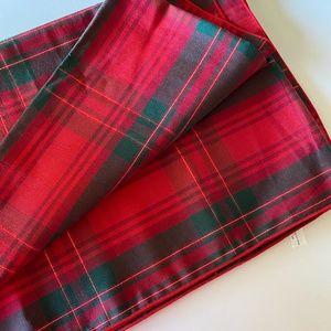 Plaid Decorative Christmas Tablecloth